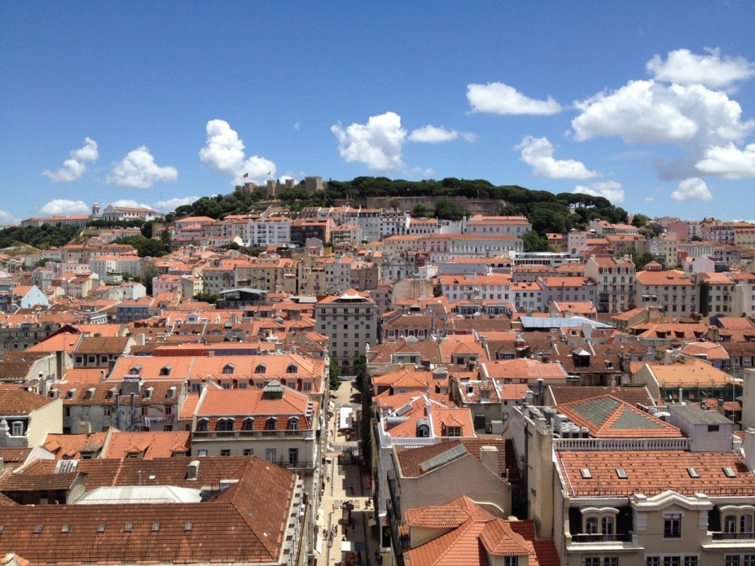 lisbon photo essay non stop destination lisbon city view of castle