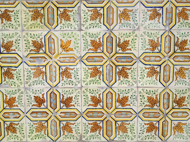 Lisbon square wall tiles