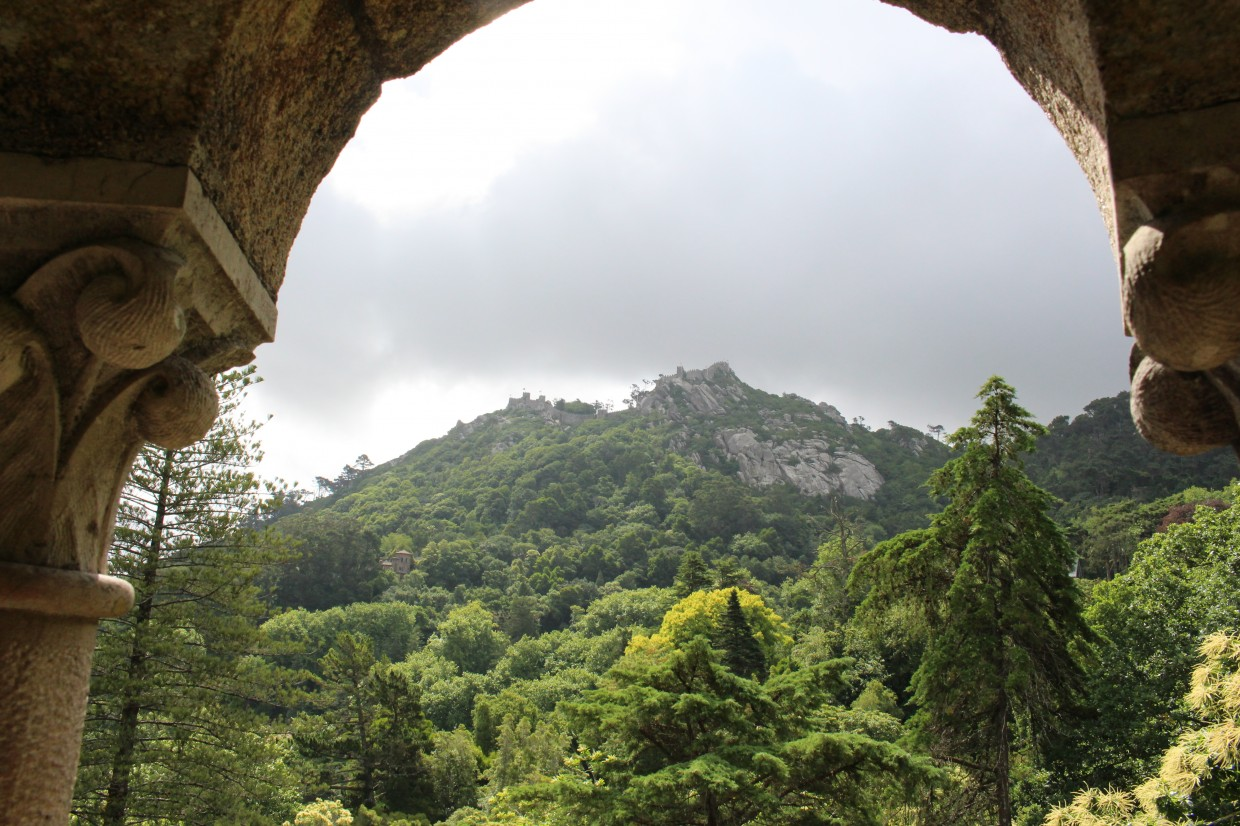 Sintra hill view