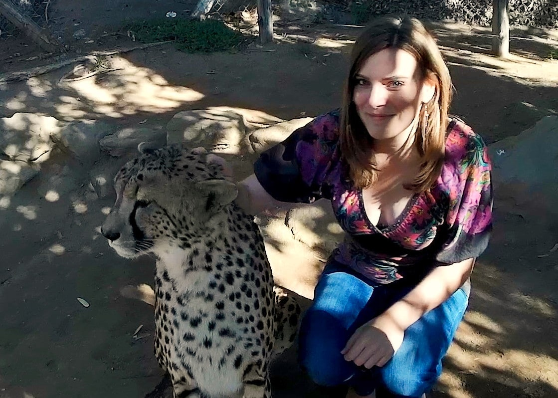 Me and cheetah