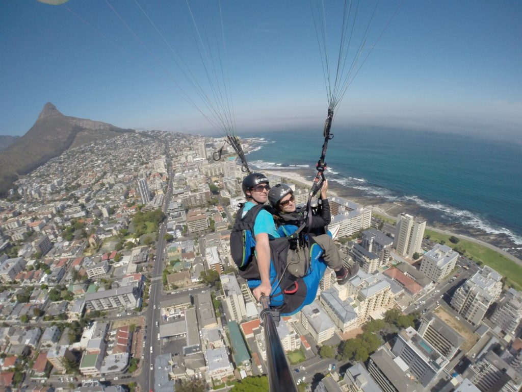 Paragliding Sea Point