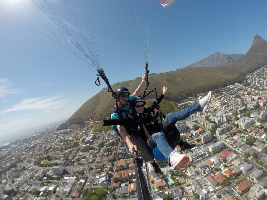 Paragliding Signal Hill
