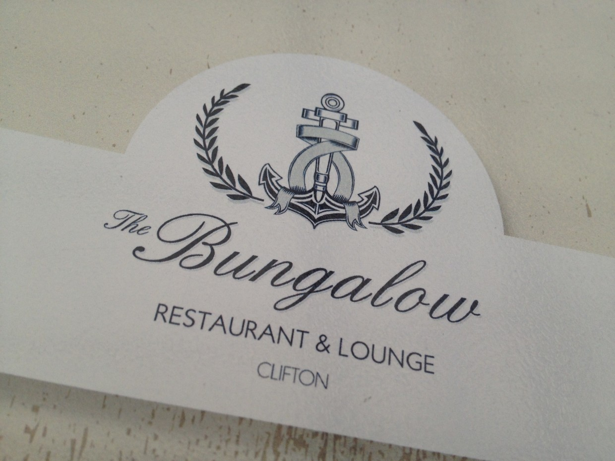 The Bungalow Logo - Restaurant in Cape Town
