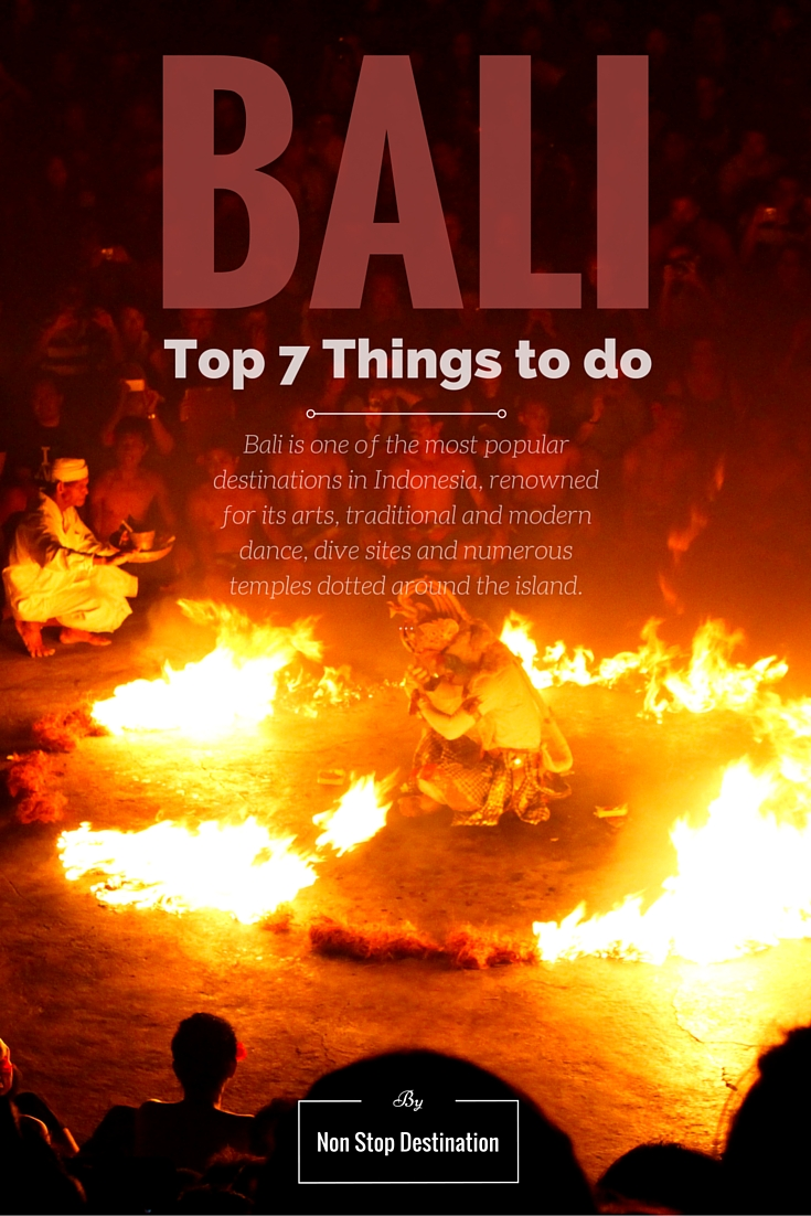 Top 7 Things to do in Bali, Pinterest