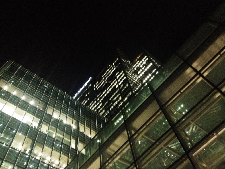 Canary Wharf high rises
