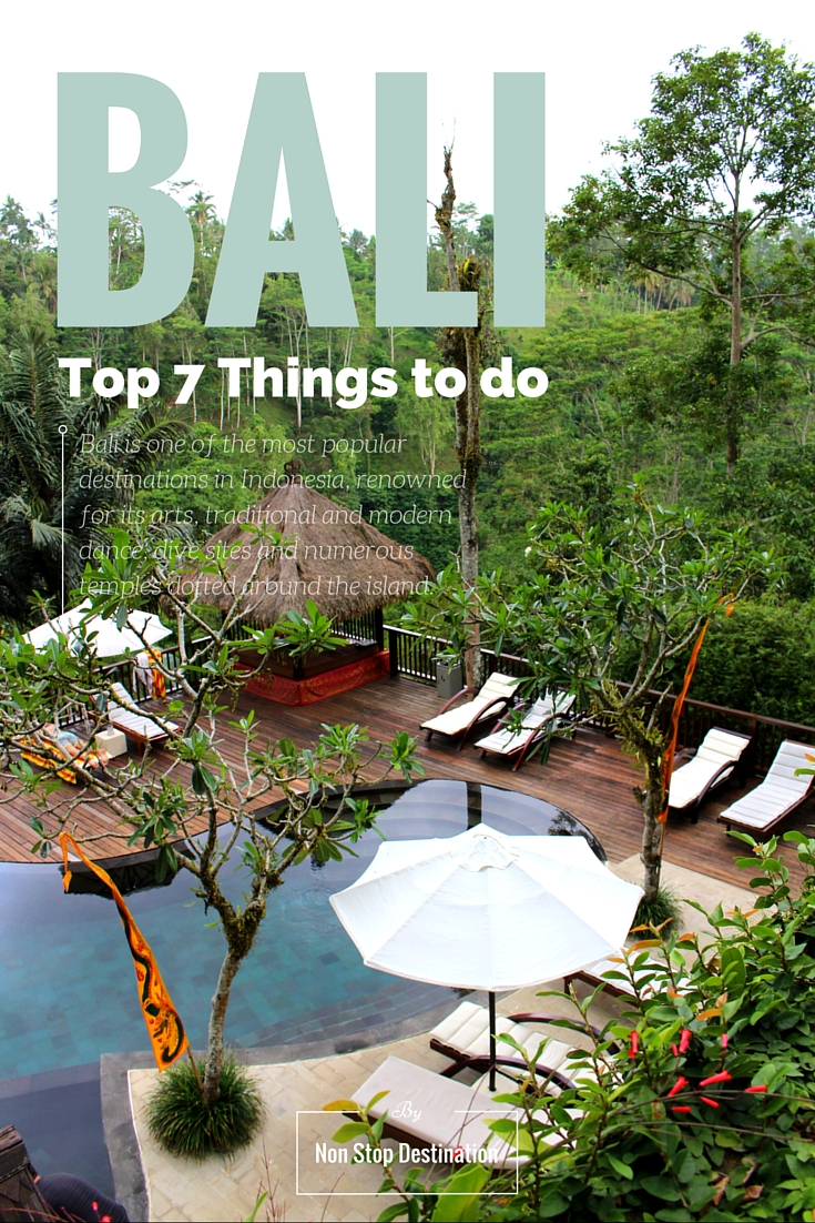 Top 7 Things to Do in Bali Pinterest