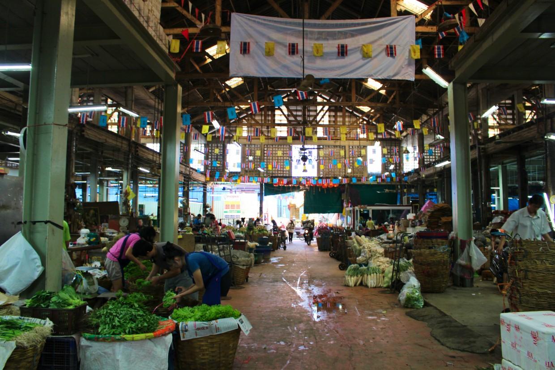 Flower market warehouse, Bangkok