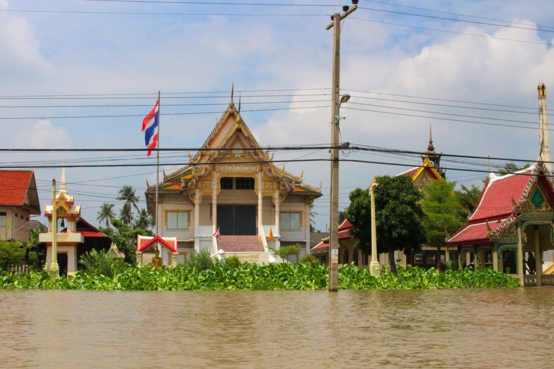 Temple Chao along the Phraya river, Bangkok