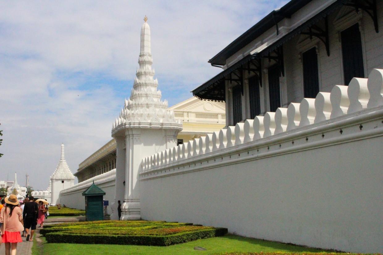 The Grand Palace wall, Bangkok
