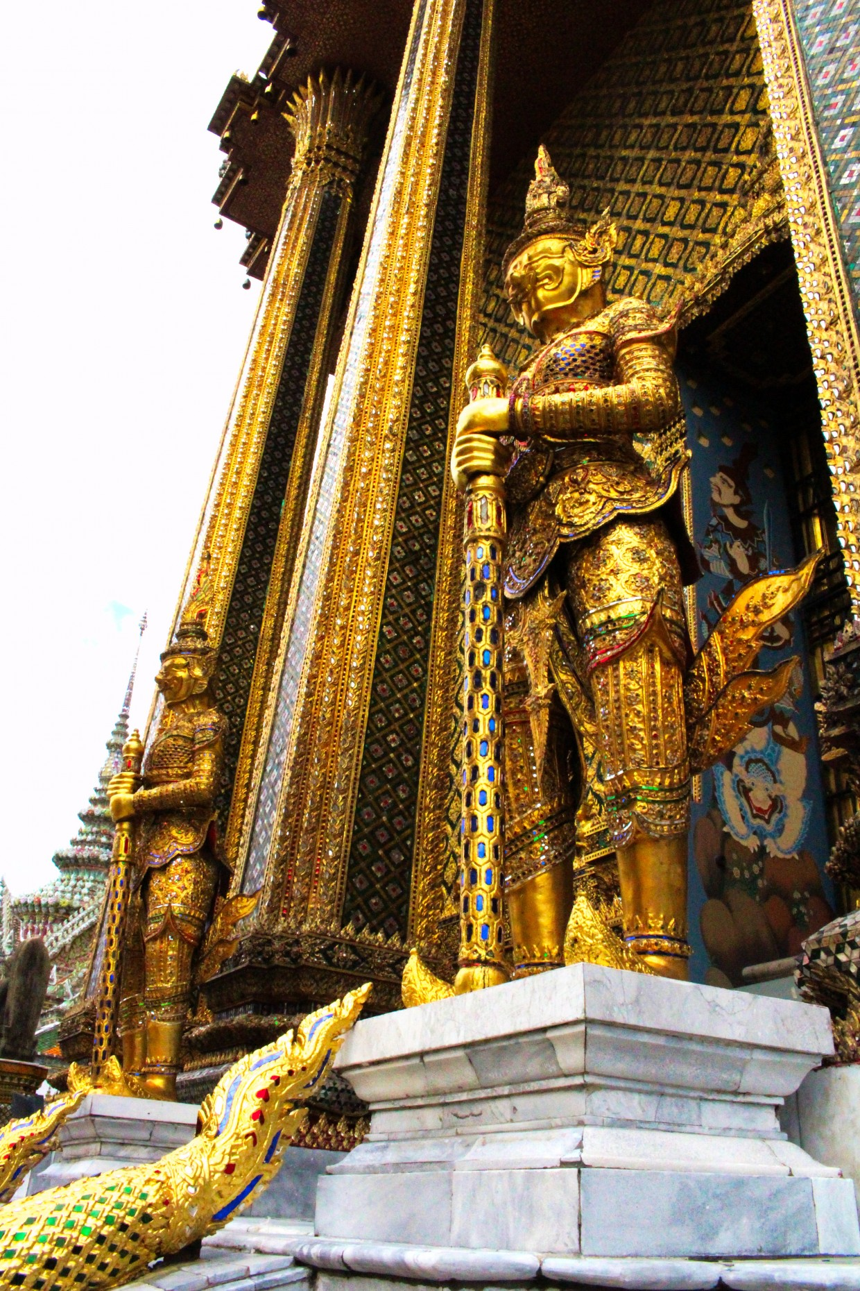 Statue at the Grand Palace