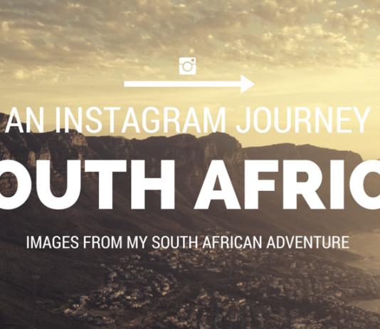 Instagram Journey through South Africa