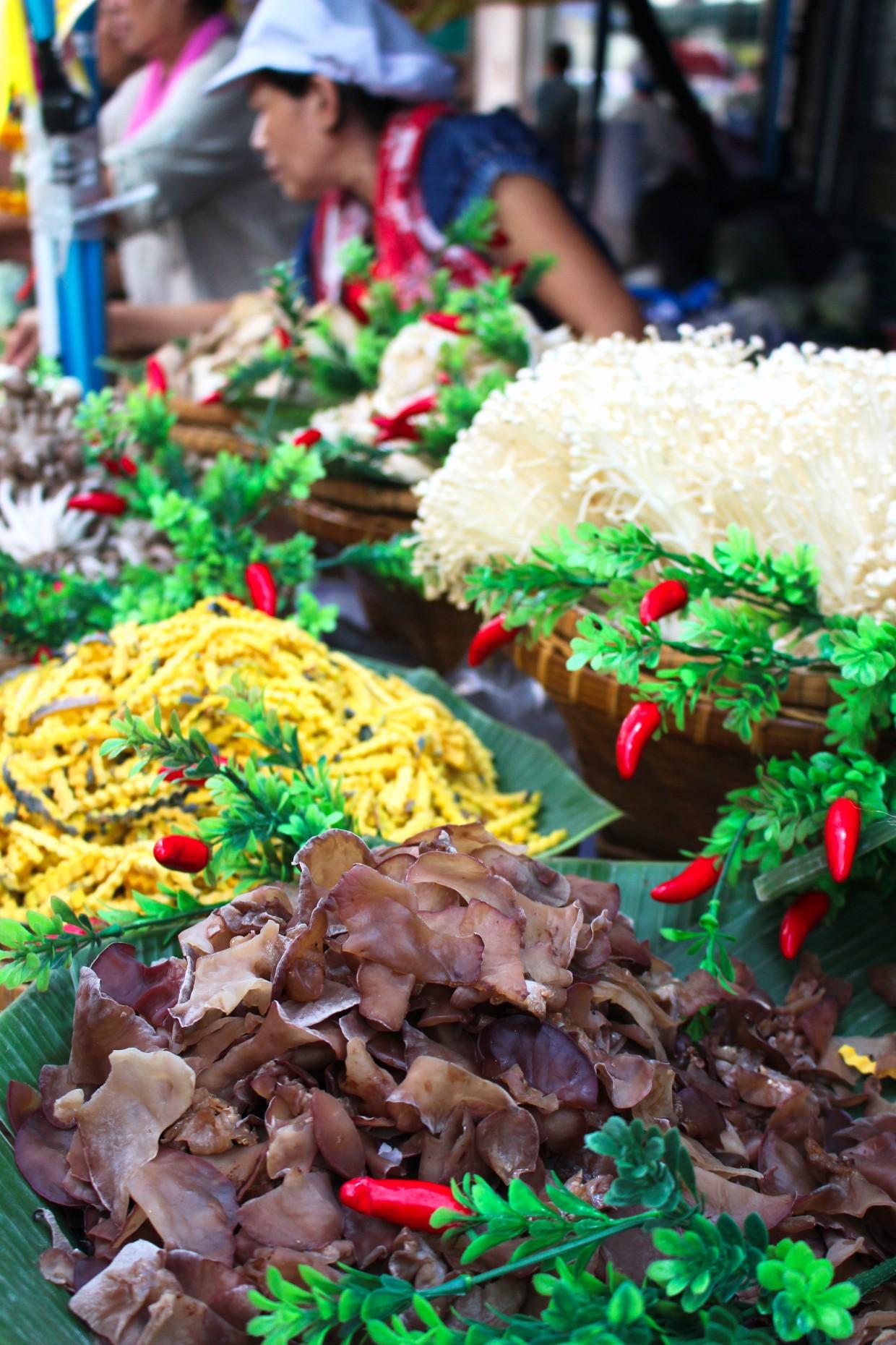 Food market in Bangkok