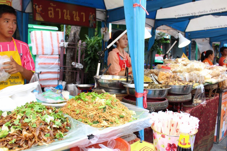 Street Food Market in Bangkok