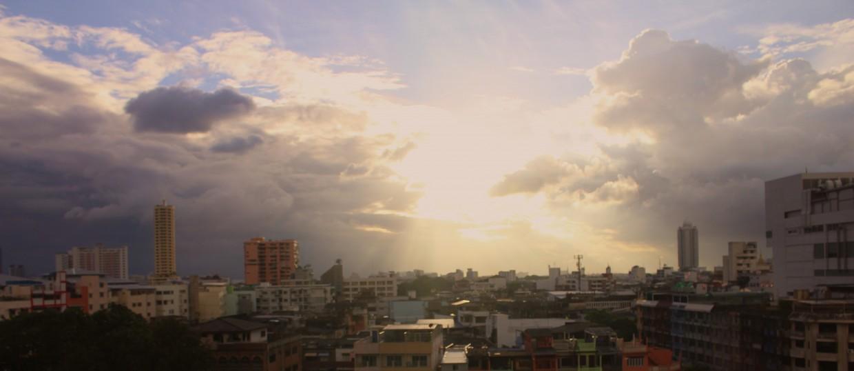View of Bangkok from hotel