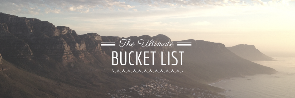 Gallery Images of Bucket List Essay