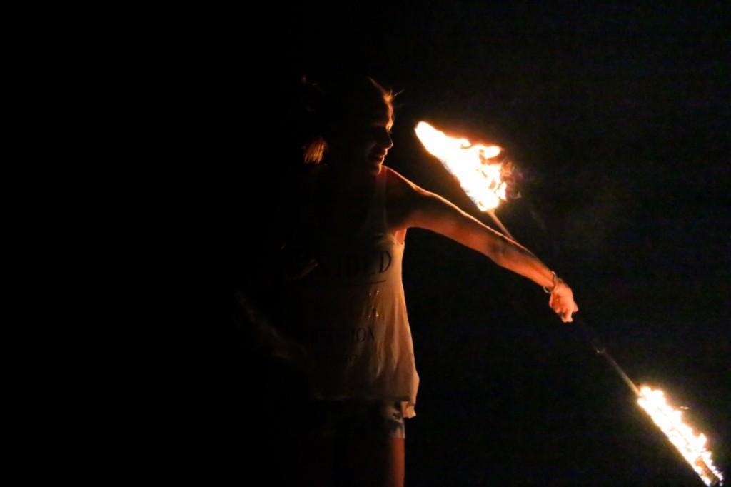 Fire in Thailand
