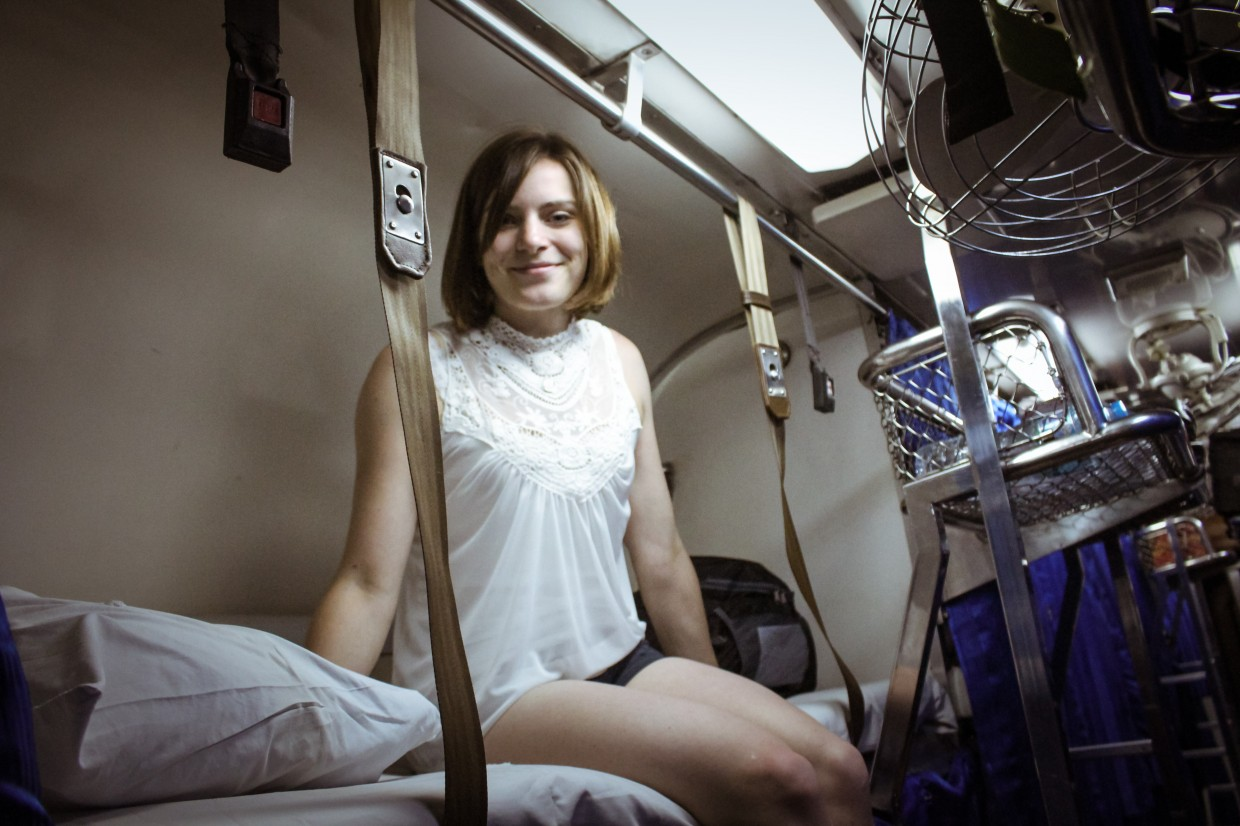 Berth Thai sleeper train