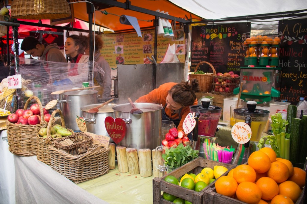 Camden Food stall
