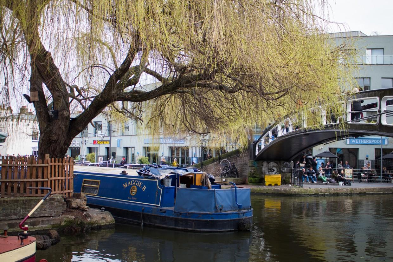 Camden lock boat