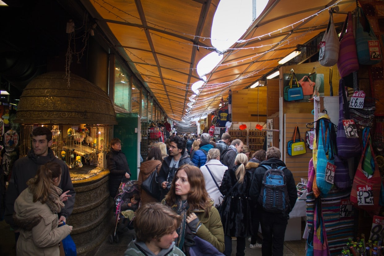 Stables Market stalls, Camden