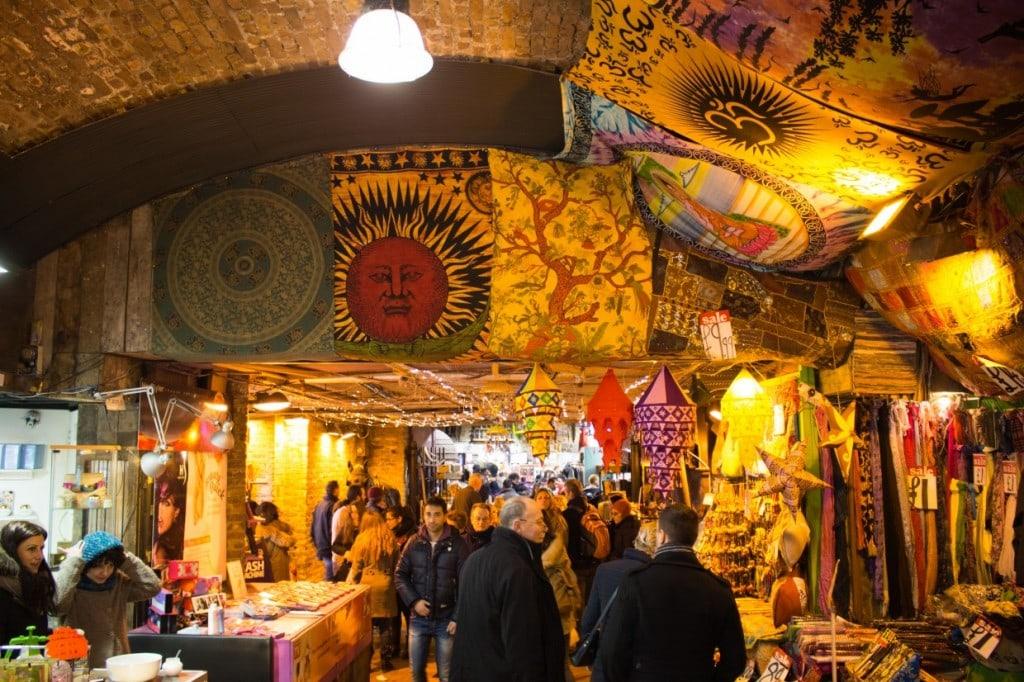 Stalls in Camden Market