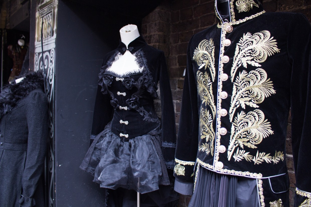 Steampunk clothes in Camden