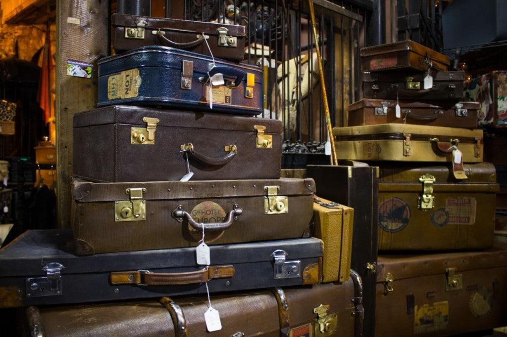 Suitcases, Camden Market