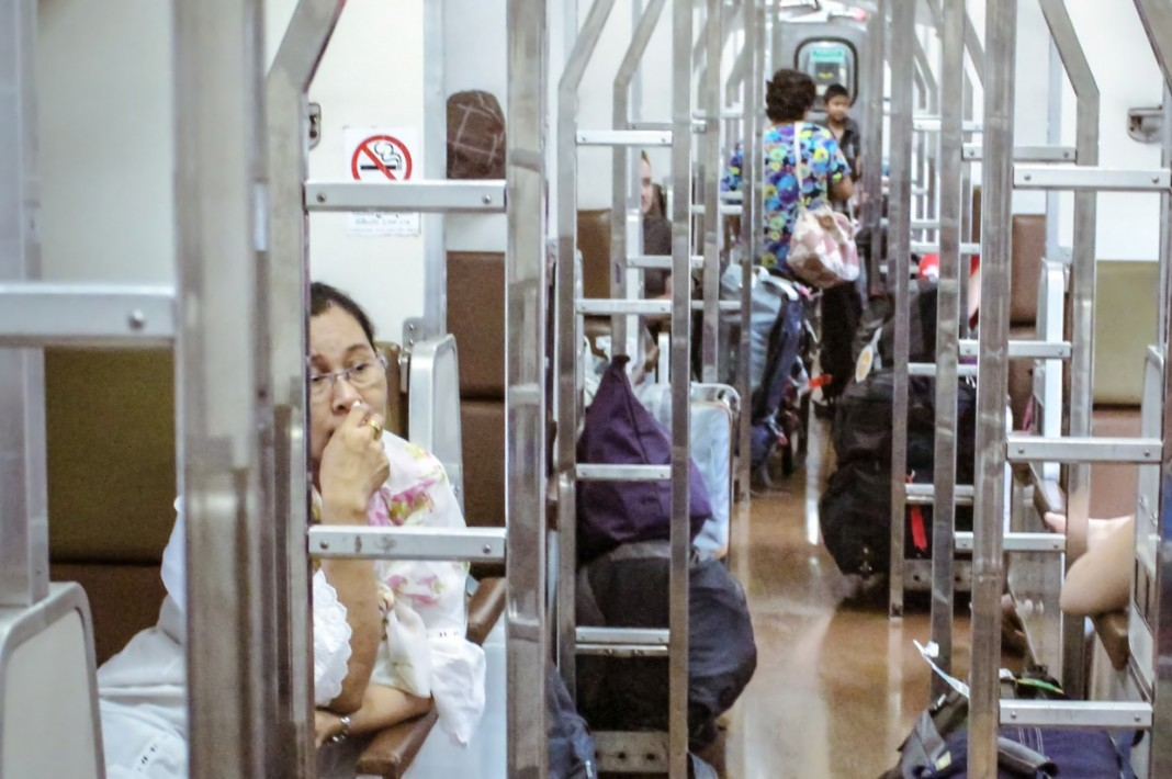 Thai sleeper train