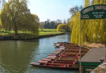 Punting in Cambridge - River Cam