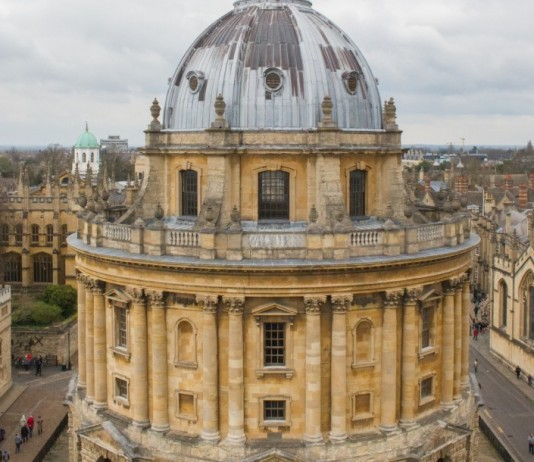 View of Oxford - Radcliffe Camera