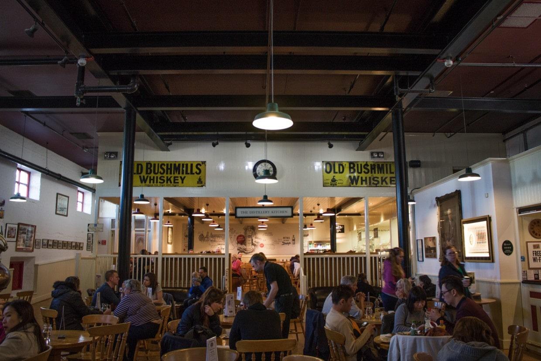 Bushmills distillery cafeteria