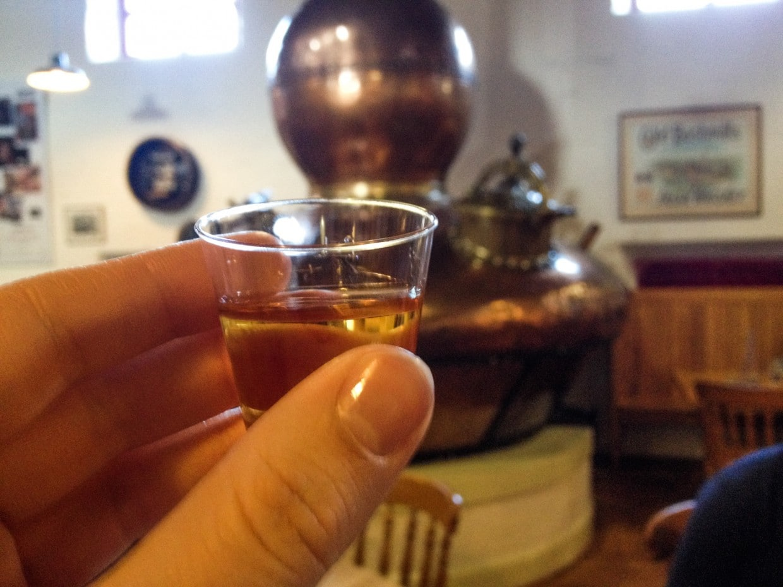 Bushmills distillery whiskey tasting