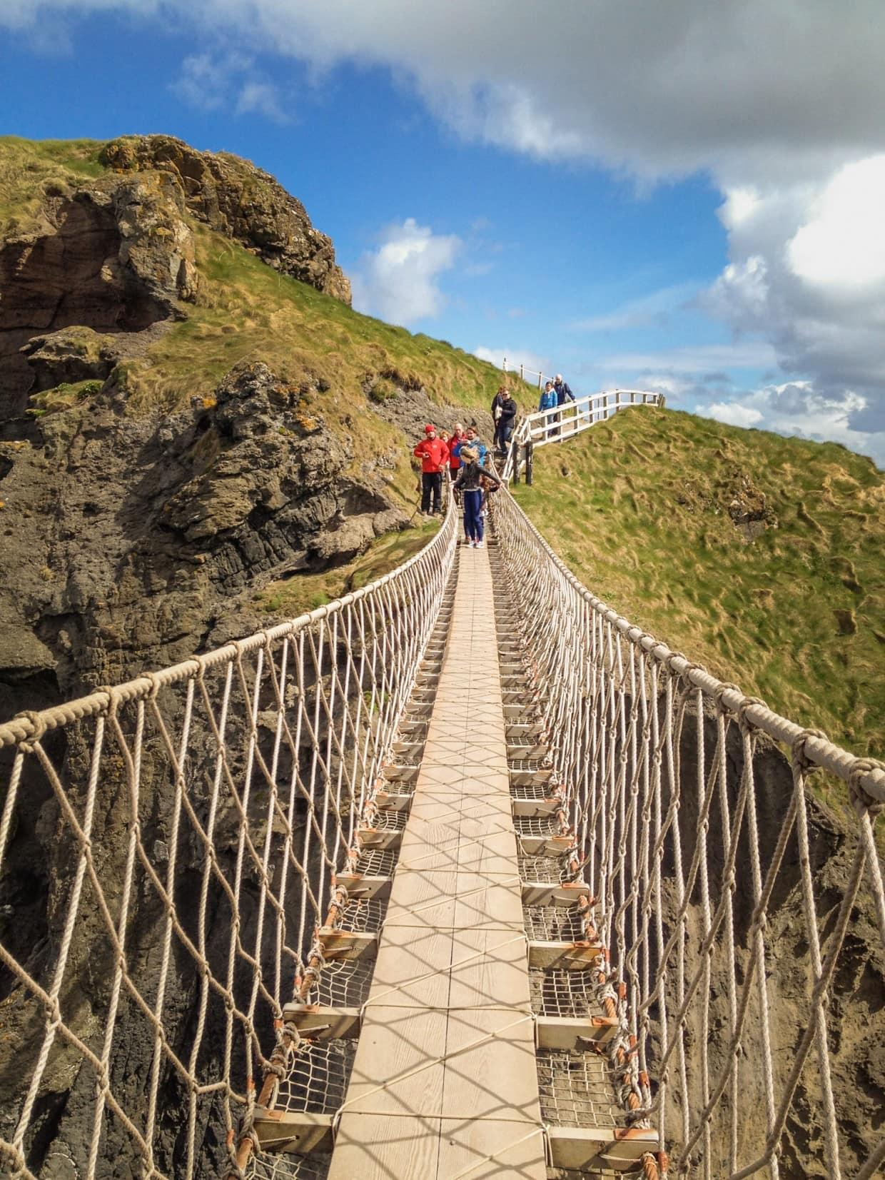 Carrick-a-rede suspension bridge