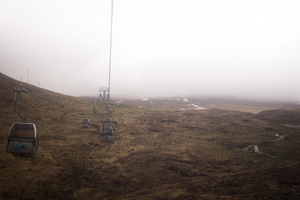 Ben Nevis cable car, Scotland