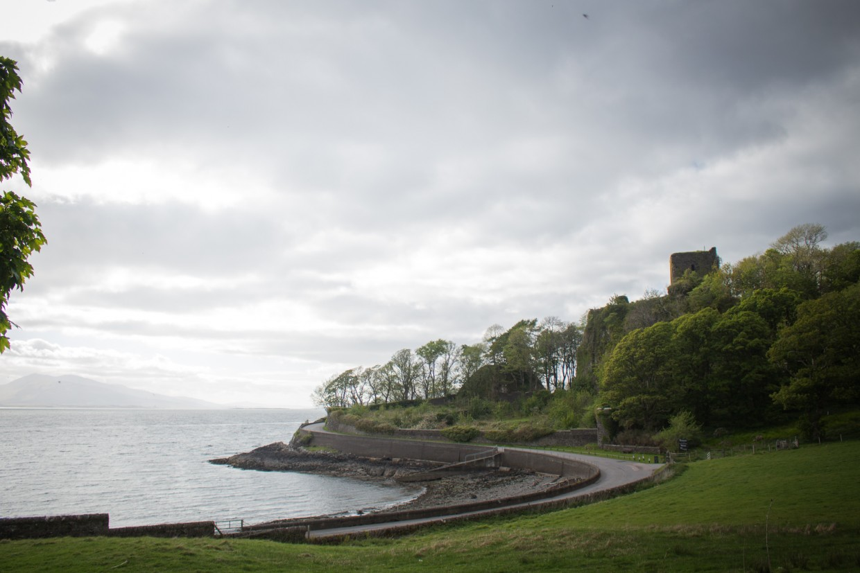 Castle in Oban, Scotland