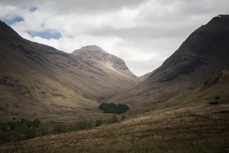 Glen Coe in Scotland