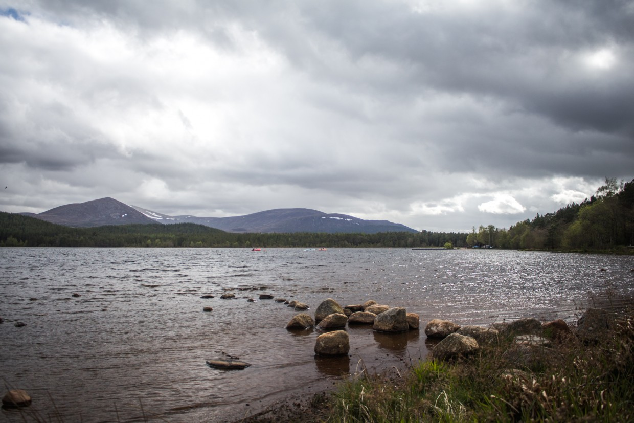Lake at Cairngorms National Park, Scotland