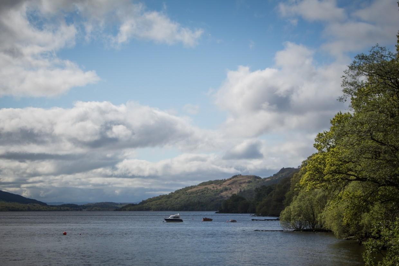 Loch Lomond in Scotland