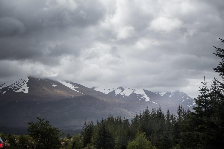 View of Ben Nevis mountain range, Scotland