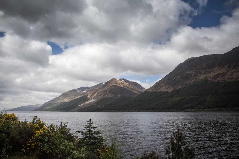 View of Loch Ness in Scotland