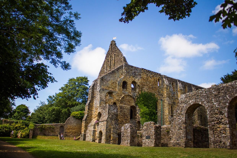 Abbey Ruin, Battle, East Sussex