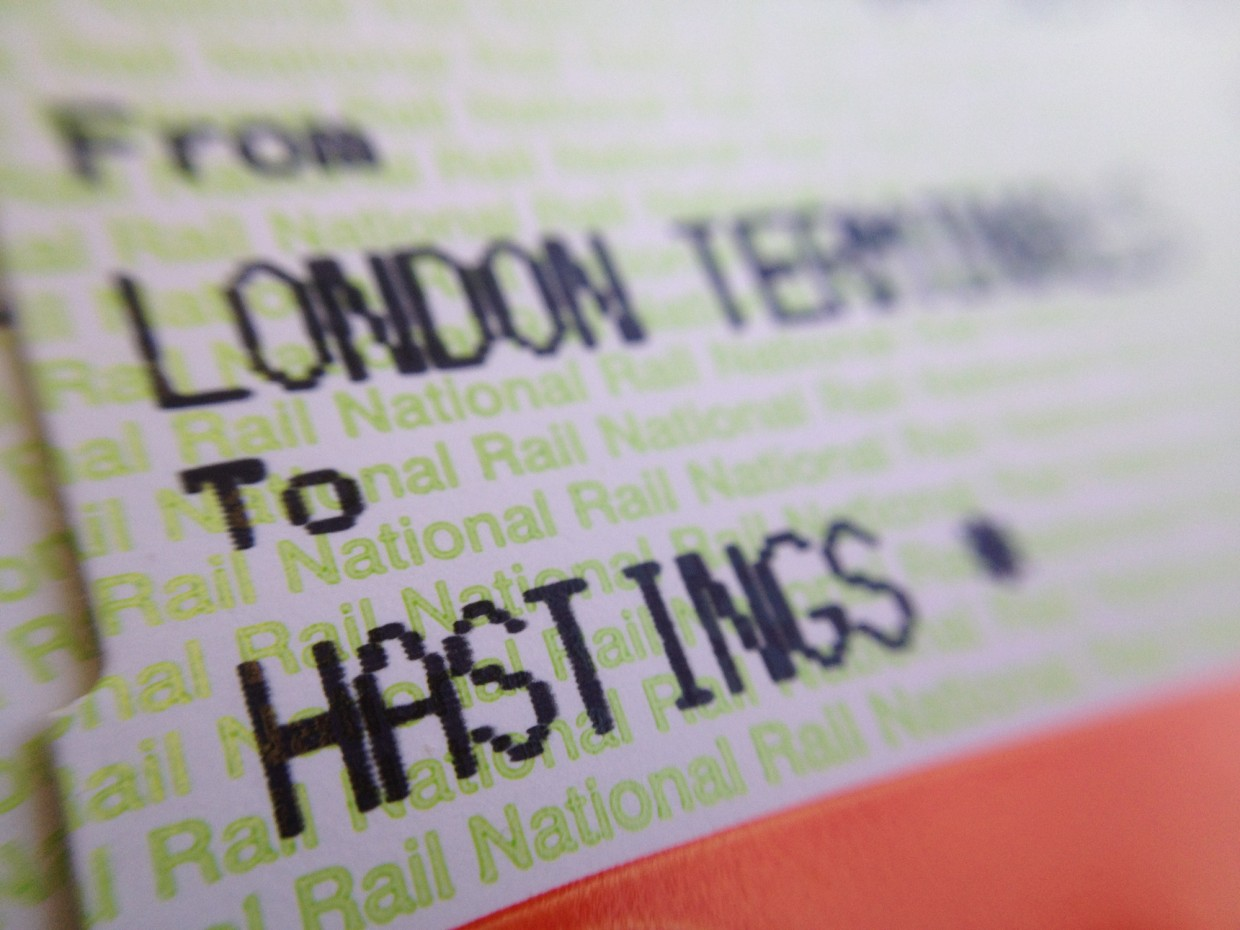 London to Hastings train