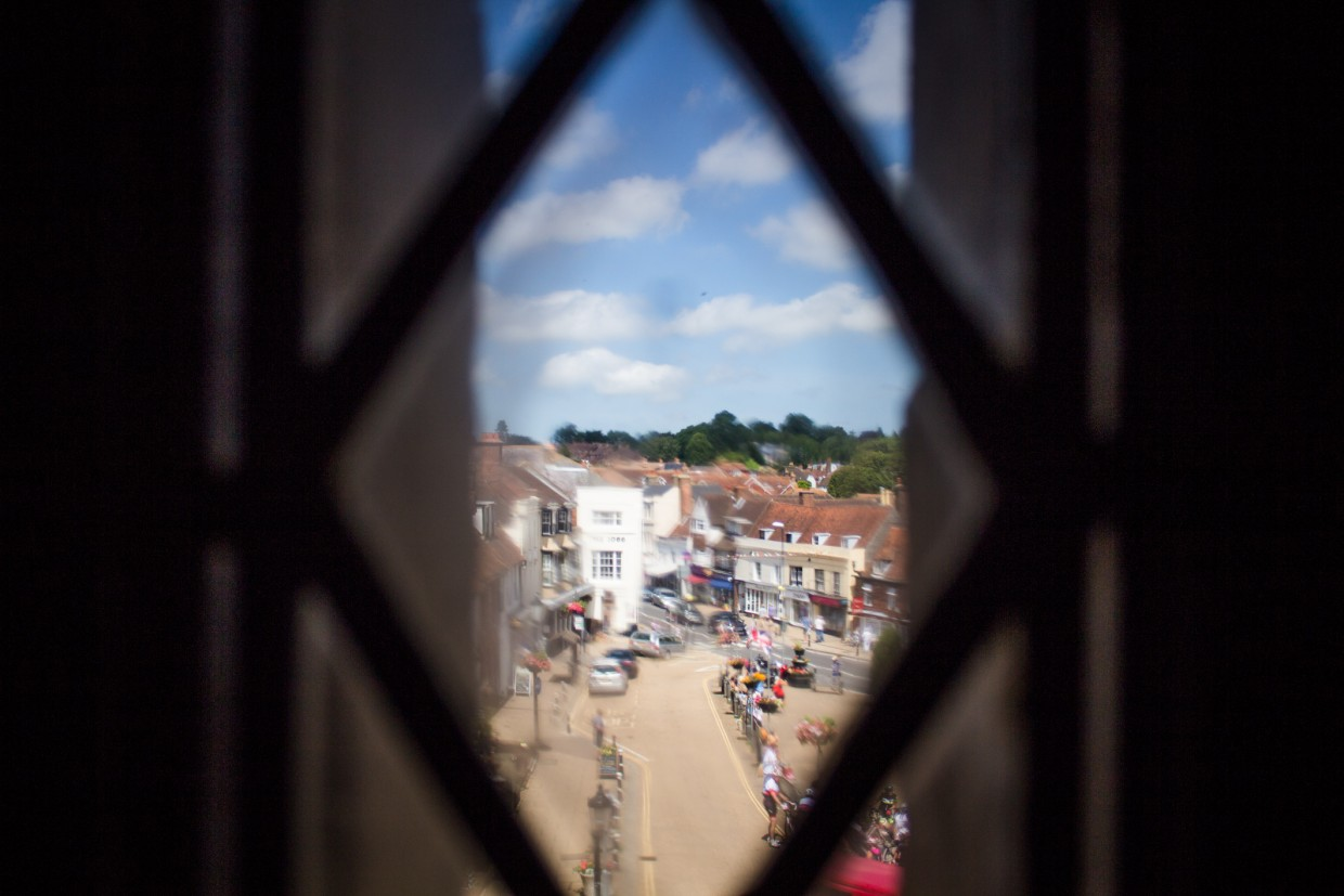 View from the Gatehouse over Battle
