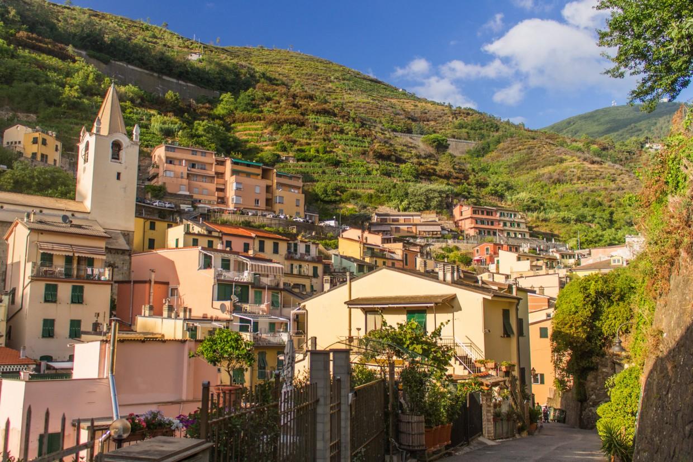 Riomaggiore streets, CInque Terre