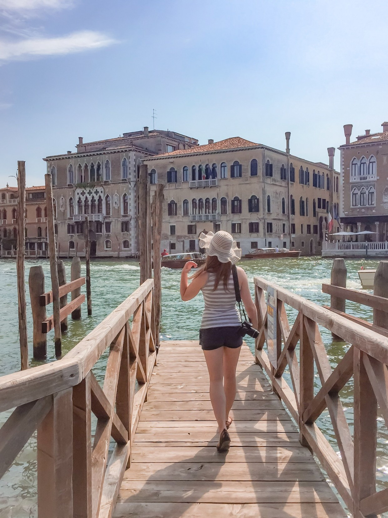 Looking out over Canal Grande, Venice