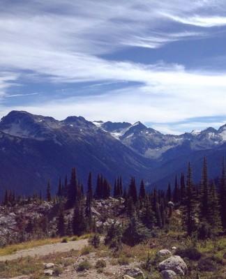 Whistler views, Canada