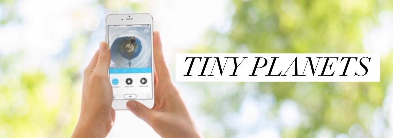 Tiny Planets app