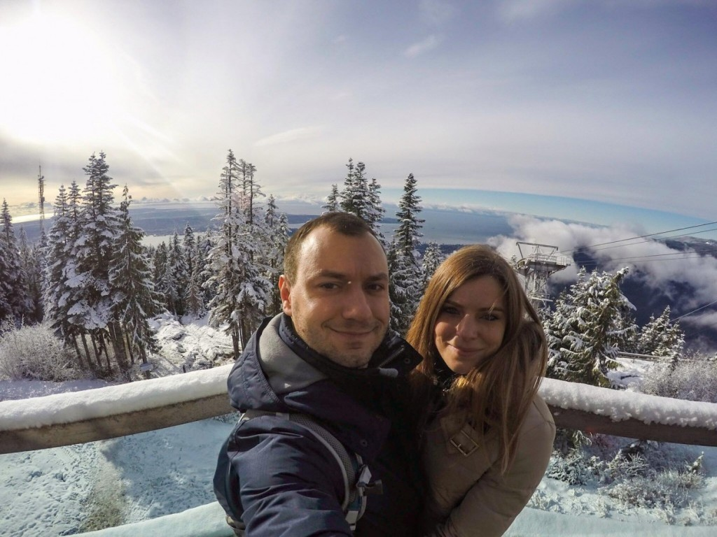 Grouse Mountain overlooking Vancouver