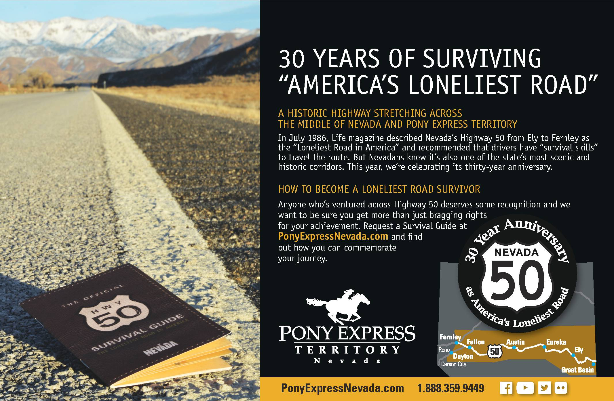 Pony Express Territory Guide