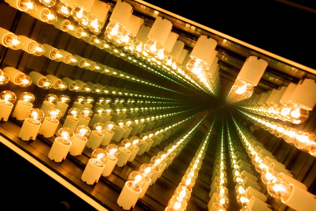 Elevator lights Museum Hotel